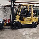 Empilhadeira marca hyster modelo 55xm capacidade 2.500 kgs