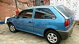 Vw gol azul ano 1997 pneus novos