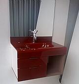 Lavatorio de vidro - stetium 80 x 80 cm