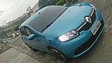 Renault sandero azul ano 2015