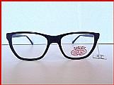 Armacao oculos sisley grau original vintage