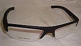 Armacao óculos esportiva acetato miopia preta