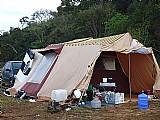 Barraca camping star dois avances