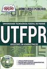 Universidade tecnologica federal do parana (utfpr)  assistente administrativo