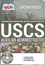 Universidade municipal de sao caetano do sul (uscs)  auxiliar administrativo i