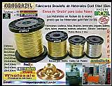 Alambre 14k para armar  bisuterias - fabricante brasileã±o - orobrazil