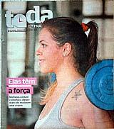 Elas tem a forca,    mulheres contam como foco dieta e exercicios,    revista toda extra nº 97