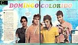 Grupo restart,  igual mas diferente,  revista diversao com poster do grupo,  02-09-2011