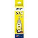 Cartucho epson t673420 - amarelo