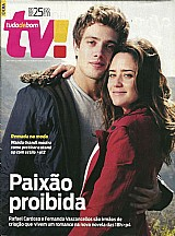 Fernanda vasconcellos e rafael carsoso,     revista tudo de bom tv nº 322