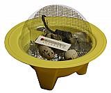 Mini chocadeira para passarinhos codornas galinhas
