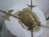 Antigo brasão medieval
