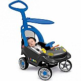 Mini veiculo smart baby comfort azul - bandeirante
