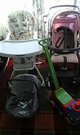 Kit para bebe carrinho e cadeirinha