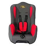 Cadeira para auto baby style 9 à 18kg vermelho e cinza