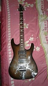 Guitarra memphis micro afinacao