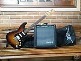 Guitarra tagima memphis mlp100  cubo yamaha