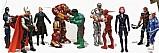 Colecao marvel avengers age of ultron 2 com 10 bonecos