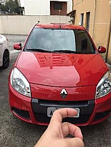 Sandero expression 1.6 vermelho 2012