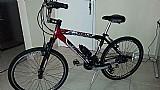 Bicicleta aluminio gts m1 walk aro 26 com 21 marcha cambio shimano,  semi nova - pouco uso