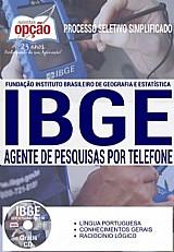 Apostila - agente de pesquisa por telefone - processo seletivo simplificado ibge 2016