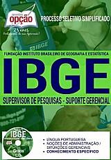 Processo seletivo simplificado ibge 2016 supervisor de pesquisas (comum a todos)
