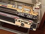 Maquina trico elgin brother 840 com pente