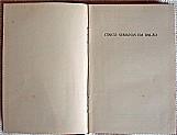 Cinco semanas em balao,   volume 1 de 1963,   280 paginas,   de julio verne,   primeira edicao