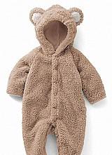 Macacao pijama infantil crianca soft capuz touca - p01