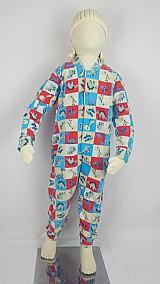 Macacao pijama infantil crianca soft estampado - p03