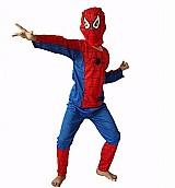 Fantasia homem aranha infantil spiderman festa crianca