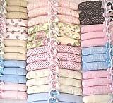 Cabides bebes infantil criancas forrado roupas lembrancinhas