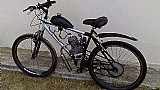 Bicicleta motorizada 80cc seminova