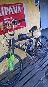 Bicicleta motorizada 80cc praticamente nova vendo ou troco