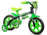Bicicleta crianca de 3 a 5 anos aro 12 menino black nathor