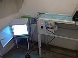 Maquina de fazer fraldas descartaveis manual