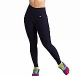 Calca tecido bolha fitness academia roupas femininas