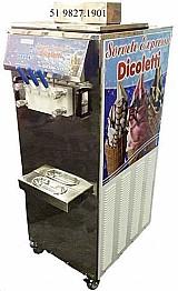 Maquina de sorvete expresso dicoletti