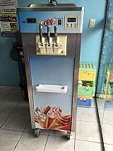Maquina de sorvete e acai expresso soft frozen kiopps