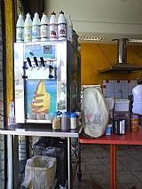 Maquina de sorvete expresso e batedor de milk shake