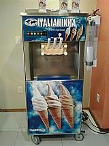 Maquina de sorvete expresso italianinha super