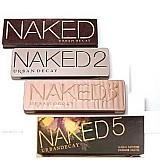 Maquiagem naked modelo 1,  2,  3