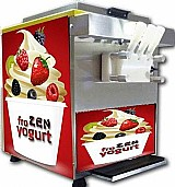 Maquina de sorvete expresso frozen iogurte gelato super