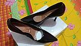 Scarpan novo cor preto verniz tambem. 35 lindo