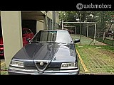 Alfa romeo 164 3.0 super v6 24v gasolina 4p automático azul 1995/1995