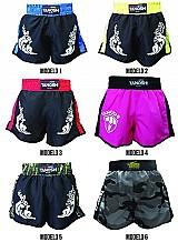 Shorts muay thai tanoshi - diversas cores