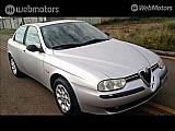 Alfa romeo 156 2.0 elegant 16v gasolina 4p manual prata 2000/2001