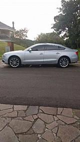 Audi a5 prata 2013