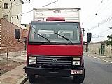 Ford cargo truck com bau 1985