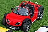 Super buggy 1.6flex std - pre reserva vermelho - 2016